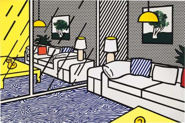 Roy Lichtenstein Interior - Ashcroft Art