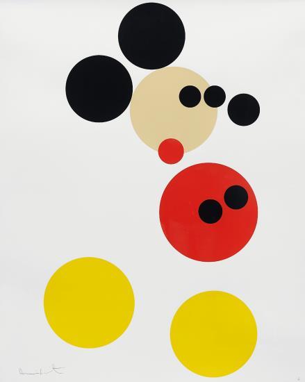 Damien Hirst Mickey - Ashcroft Art