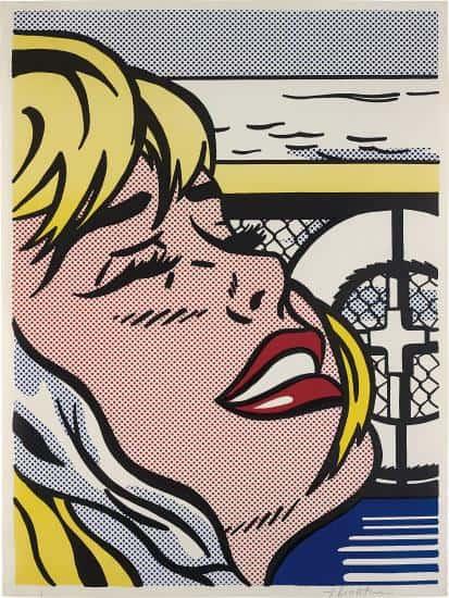 Roy Lichtensetin Shipboard Girl - Ashcroft Art