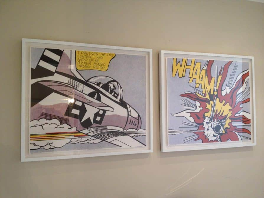 Roy Lichtenstein Whamm - Ashcroft Art