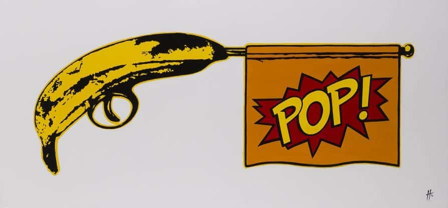 Anthony Haylock Bang Goes Pop Again - Ashcroft Art