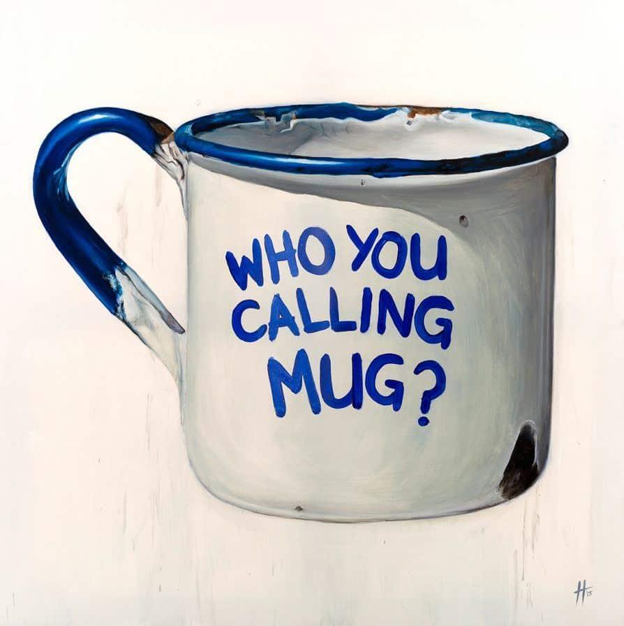Anthony Haylock Tin Mug - Aschroft Art